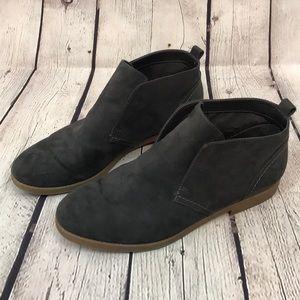 Indigo Rd. Dark Gray Slip On Short Booties!